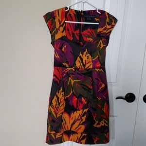 French Connection dress with a low neck